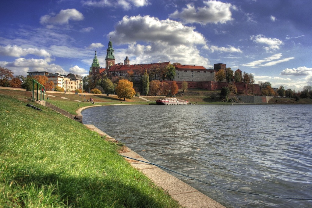 wawel-river-view